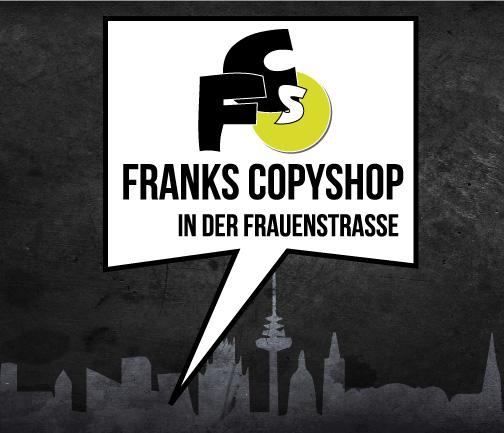 Kopien Druck Franks Copyshop Frauenstraße Münster